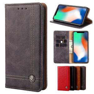 Luxury Leather Flip Wallet Phone Case Cover for Huawei nova 5T 8 pro se 5i 3i 3e