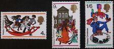 Christmas stamps, GB, Elizabeth II, rocking horse, train set, Ref: 775-777, MNH