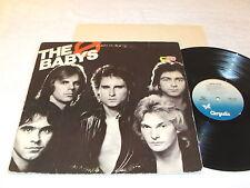 "The Babys ""Union Jacks"" 1980 Rock LP, VG, Original Chrysalis Pressing"
