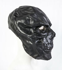 Latex Mask Black Mask Skull Halloween Fancy Dress Skeleton Costume Prop Adult