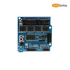 V5 Sensor Module Shield Bluetooth RS232 Analog Servo Motor LED for Arduino