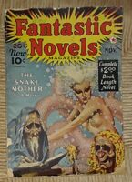 Fantastic Novels Pulp Vol. 1 No. 3 November 1940 Red Star Virgil Finlay Art