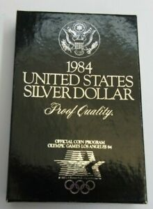 1984 UNITED STATES SILVER OLYMPIC DOLLAR PROOF .900 SILVER SAN FRANCISCO MINT