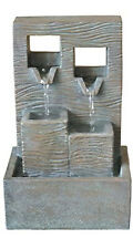 Indoor Tabletop Cascade Fountain by Style Selections NEW In Box