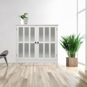Storage Cabinet Home Tall Organizer with Door Shelf Freestanding Pantry Kitchen