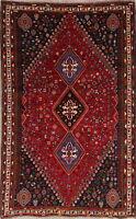 Vegetable Dye Geometric TRIBAL Abadeh Carpet 6x9 Oriental Area Rug LIVING ROOM