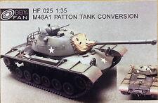 Hobby Fan 1/35 M48A1 Patton Tank Conversion (Resin Kit) - HF025