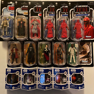 """Lot Of Star Wars 3.75"""" Vintage Collection And Droid Action Figures"""