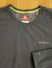 NEW COLUMBIA OMNI-HEAT MENS LONG SLEEVE T SHIRT Sz XL - FREE SHIPPING