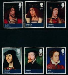 GB 2010 Kings and Queens SG 3046-3052 MNH