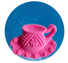 Tea Cup on Saucer Mini Silicone Mold for Gum Paste, Fondant, Chocolate #042
