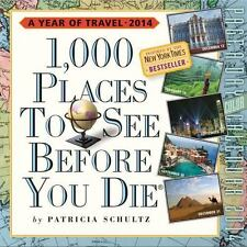 1,000 Places to See Before You Die 2014 Page-A-Day Calendar