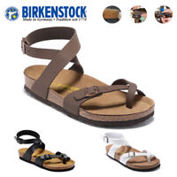Birkenstock Yara Unisex Sandals Flip Flops Casual Shoes EVA Sole