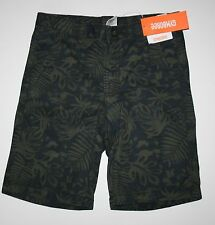 New Gymboree Boys Surf Wagon Jungle Leaf Print Shorts 7 year NWT Adjustable