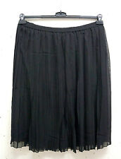 Unifarbene Damenröcke aus Polyester in Übergröße