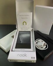 Barnes & Noble BNRZ100 3G Wi‑Fi Nook E‑Book Reader White/Gray