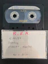 REM Live at Vredenburg Utrecht 14-10-1987 2nd Gen Cassette Tape