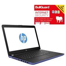 "HP 14-BW020NA Laptop 14"" AMD A6 8GB RAM 1TB HDD Blue With BullGuard Grade C"