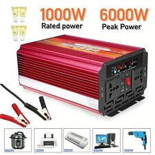 Solar wind power Inverter 12-24V 110-220V 6000W Transformer Converter mobil home