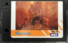 Goonies MSX Computer Video Game Japan Import Vintage Rare Konami