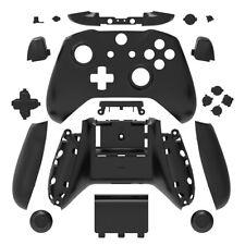 Black Matt Full Custom Shell Case Housing Buttons for Xbox One S X Controller