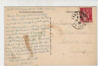 France Annecy 1935 Les Vieilles Prison Pic Stamps Post Card to London Ref 32123
