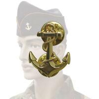 ANCRE de Calot / Casquette Troupes des Marine Nationale Française TDM T.D.M
