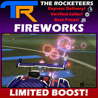 [PS4/PSN] Rocket League FIREWORKS Limited boost Frosty Fest 2018