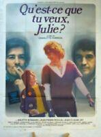 Plakat Kino Was Tu Want Julie ? - 120 X 160 CM