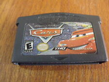 CARS Gameboy Advance DS Game