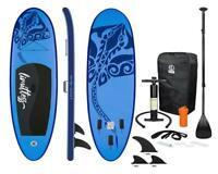 Surfboard Aufblasbar+Pumpe 3Finnen Paddelboard+Zubehör Stand Up Paddle SUP Board