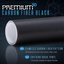 3d Carbon Fiber Matte Vinyl Wrap Roll Sheet Bubble Free Air Release Custom Cut