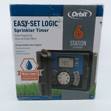 Orbit Sprinkler Timer 27896 6 Station  Indoor/Outdoor Irrigation Timer Easy Set!