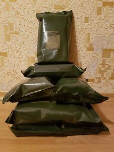 2x Lithuanian Army MRE Daily Ration Meal Survival Hiking Camping