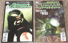 Green Lantern: War...Green Lanterns: Aftermath #1 & #2 [VF+/NM-] DC Comics, 2011