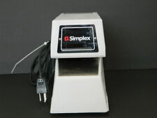 SIMPLEX 1605-9001 TIME STAMP PUNCH RECORDED KEY INCLUDED