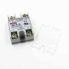 New SSR-40VA 40A 24-380VAC Solid State Relay BOOSTER Single-Phase w/ Case Cover