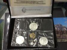 107ma) San Marino Trittico 1981 Virgilio FDC 1000, 500, 500 Lire Ag. Zecca