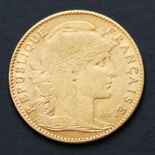 10 francs or Marianne Coq années variées