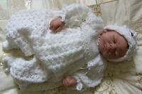 CROCHET PATTERN **BABY HEIRLOOM CHRISTENING SUIT SET**