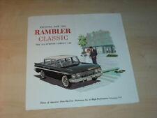 32231) Rambler Classic - Übergröße - Prospekt 1961