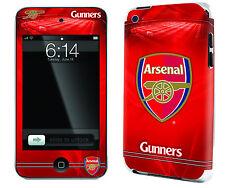 Arsenal FOOTBALL CLUB IPOD TOUCH 4 Pelle Autoadesivo Ufficiale GUNNERS Merce Nuova