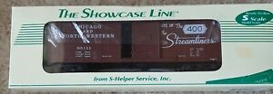 The Showcase Line from S-Helper Service #65111 Chicago and North Western boxcar