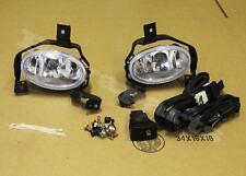 2010-2011 Honda CRV Clear Bumper Driving Fog Lights Pair w/ Lamp