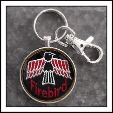 Vintage Firebird Shoulder Patch photo keychain Gift 🎁 Pontiac Trans Am