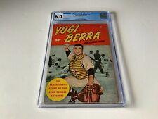 YOGI BERRA BASEBALL HERO NN CGC 6.0 NEW YORK YANKEES MLB FAWCETT COMICS 1951