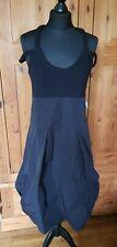 Moloko Designer Black Dress Rundholz Style Tulip Hem Size Large (12)