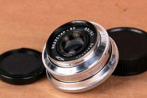 INDUSTAR-50 Silver lens 50mm f/3.5 M39 SLR for Zenit 3M KMZ Russian