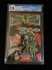 DC COMICS: GREEN LANTERN #83, 4-5/71, CGC 7.5 Off-White Pages, 8007