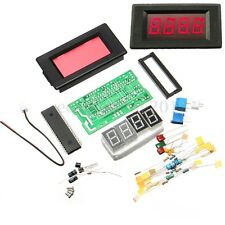 ICL7107 DIY Digital Ammeter Electronic Learning Kit Red Display  PCB Board DC 5V